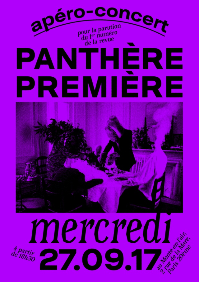 panthere première affiche